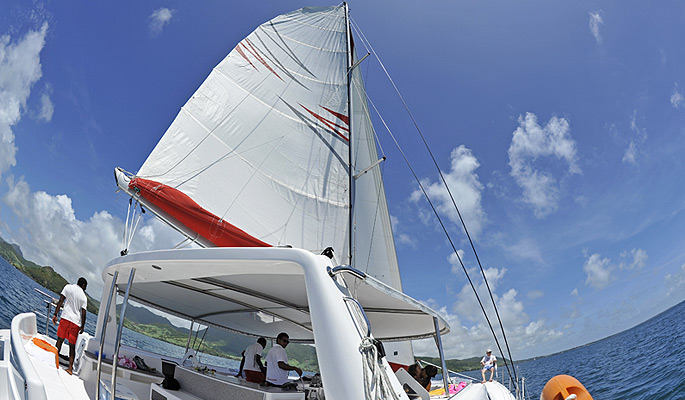 full day catamaran cruise mauritius
