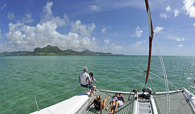 book mauritius overnight catamaran cruise